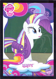 My Little Pony Rarity Series 3 Trading Card