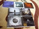 toate cele sapte albume scoase de Insomnium pe covor