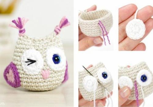Small Owl - Free Pattern