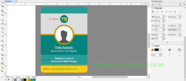 Membuat ID Card Menggunakan CorelDraw 17