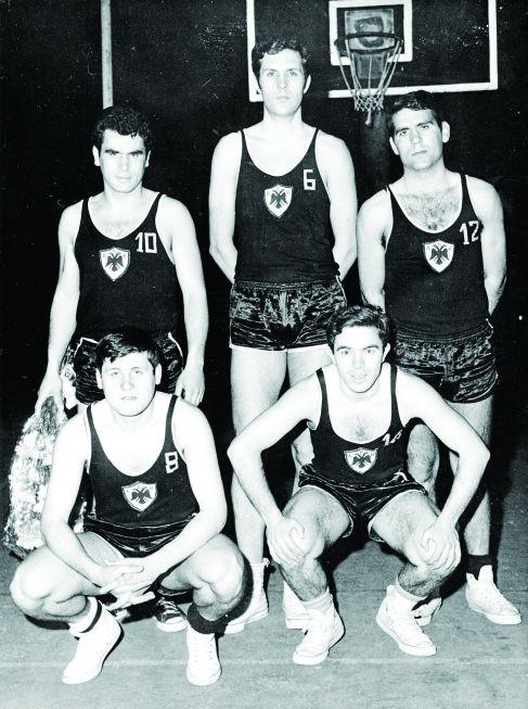 Αποτέλεσμα εικόνας για αεκ μπασκετ 1965