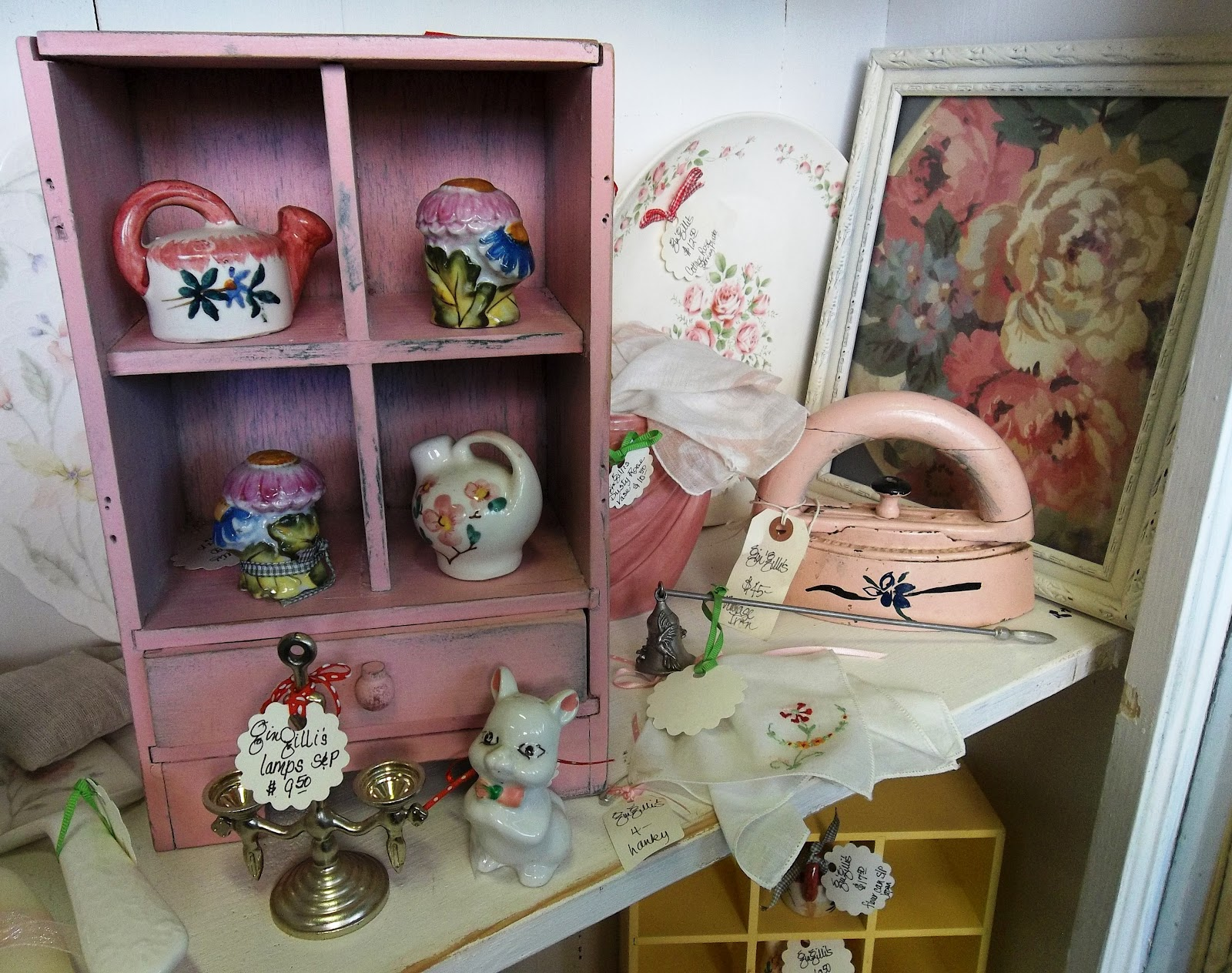 Gin Gilli S Vintage Home Tickled Pink