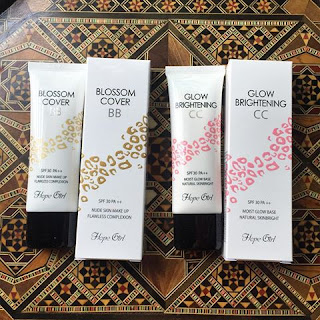 BLOSSOM COVER BB & GLOW BRIGHTENING CC BY HOPE GIRL