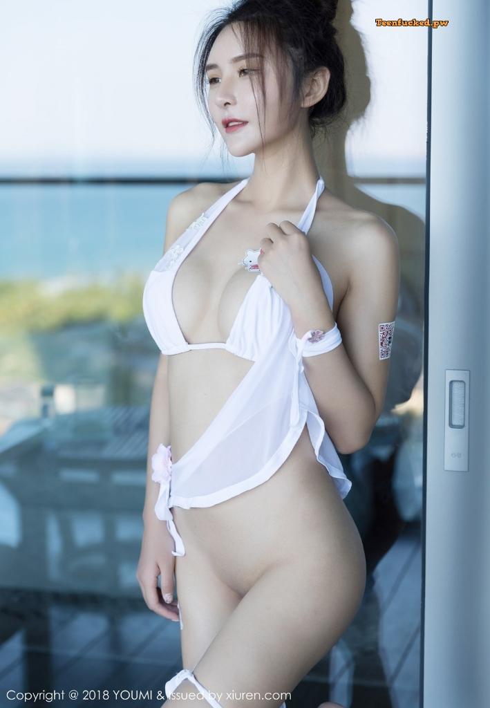 YouMi Vol.224 SOLO MrCong.com 035 wm - YouMi Vol.224: Người mẫu SOLO-尹菲
