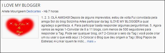 Blog Dedicartes