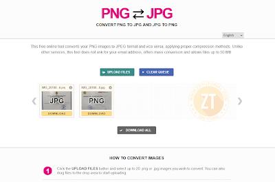 Tips Cara Convert Gambar JPG - PNG