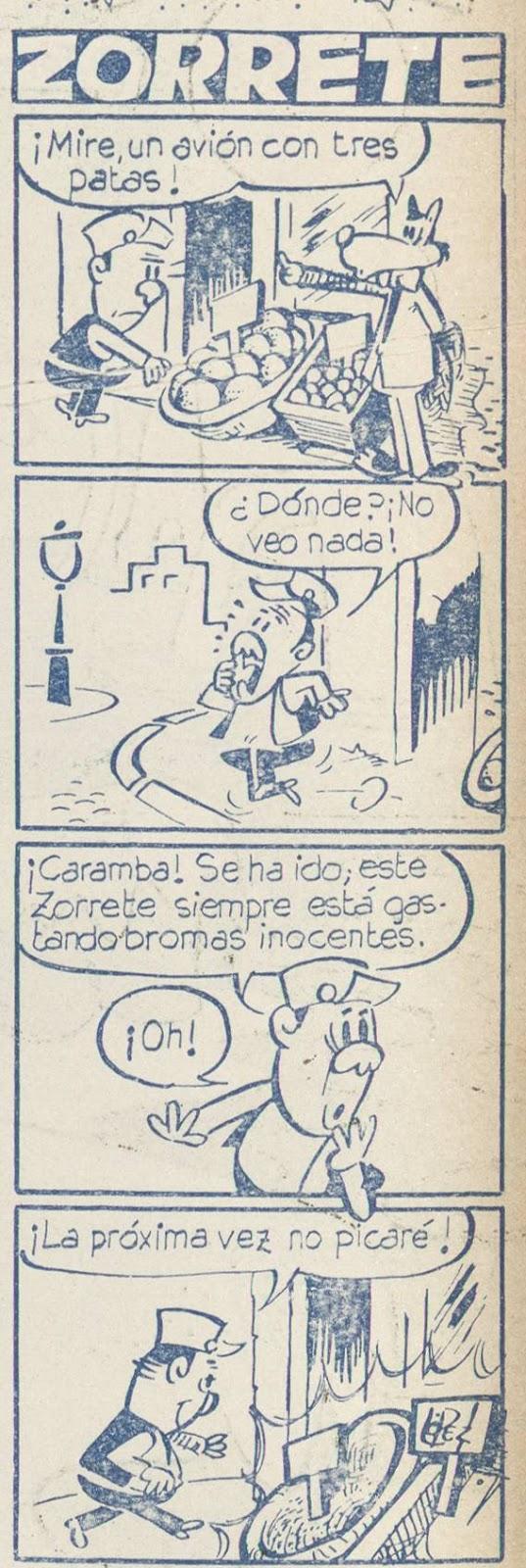 Zorrete, por Jan, Yumbo nº 229