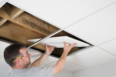 Cara Paling Mudah Pemasang Plafon Gypsum Untuk Rumah Sederhana 1