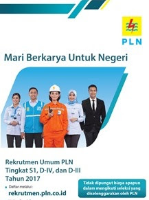 Lowongan Pekerjaan PT. PLN Bulan April 2017