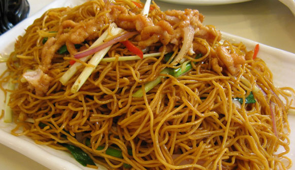 Fine Cooking For You: Chinese Fried Noodles