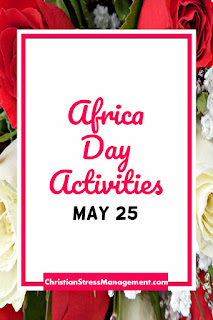 African Day Activities May 25