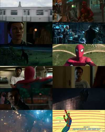 Spider Man Homecoming Hindi  - Tamil - Telugu - Eng 720p Movie Download 1GB HDRip