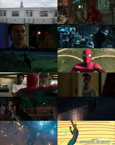 Spider Man Homecoming Hindi - Tamil - Telugu - Eng 720p Movie Download 1GB HDRip