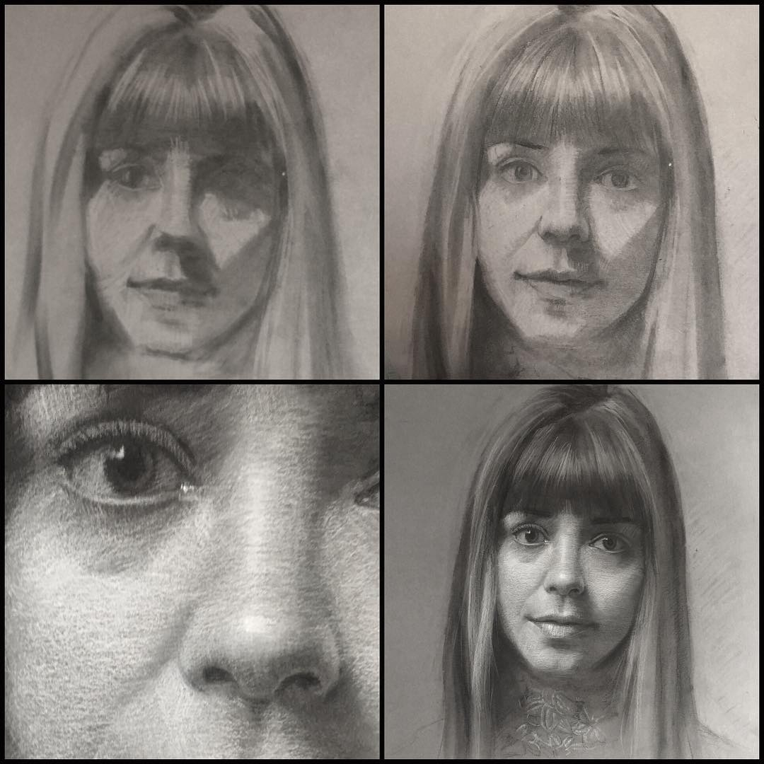 01-Shana-Levenson-Charcoal-Portraits-on-Paper-Inspired-by-Nostalgia-www-designstack-co