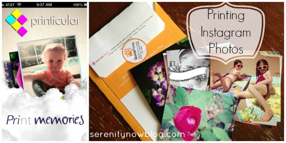 How to Print Your Instagram Photos! at Serenity Now