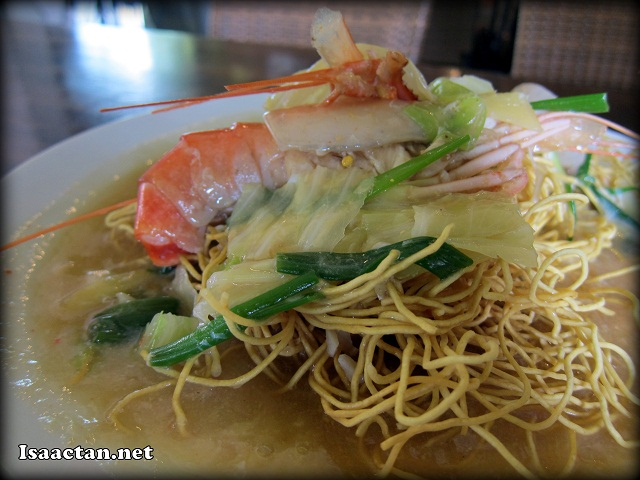Sang Har (Fresh Prawn) Noodles