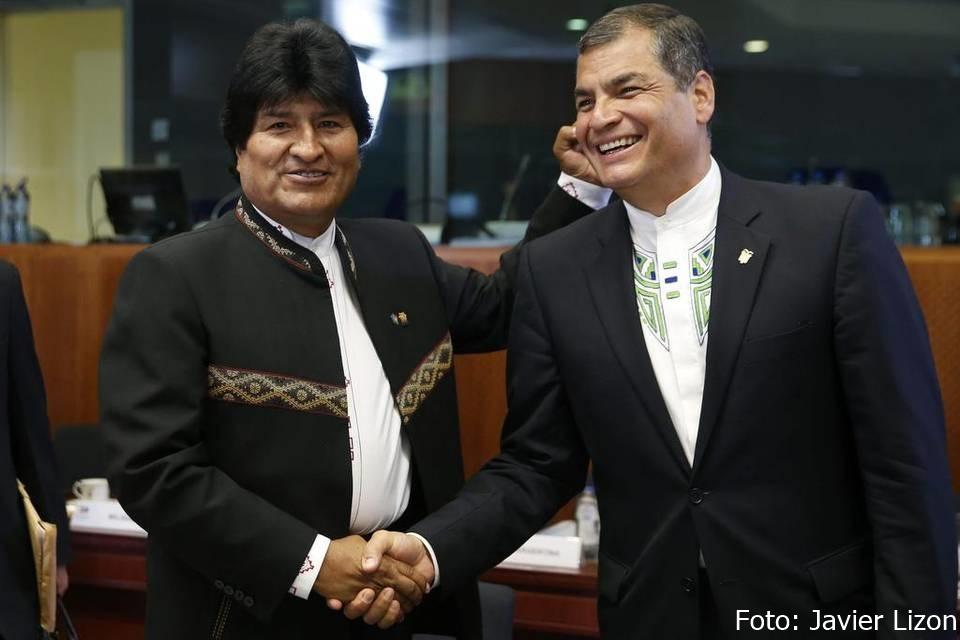 Bolivia-Ecuador: Conspiración de derecha contra candidaturas progresistas
