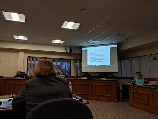 Dr Joyce Edwards presented an update on STEM and digital learning