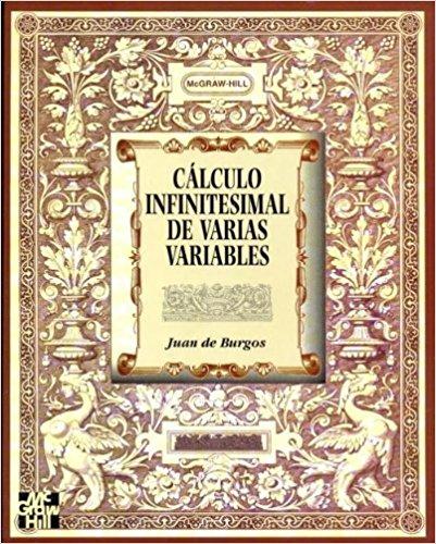 Cálculo infinitesimal de varias variables – Juan de Burgos