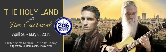 206 Tours Pilgrimage to the Holy Land Jim Caviezel John Michael Talbot