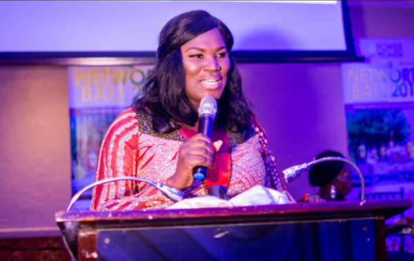 Anita Erskine gives Keynote Address at PowerWomen 232 NetWorth Ball