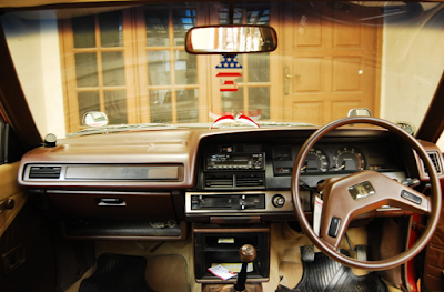Interior Toyota Corolla DX KE70 Restorasi