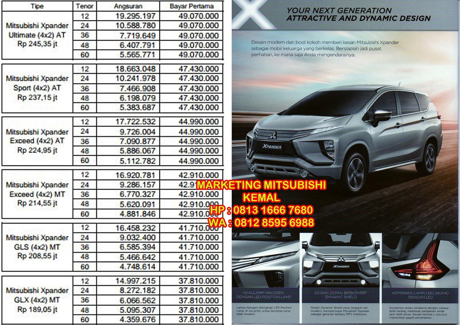 Dealer Mitsubishi XPANDER Melayani Pembelian Mitsubishi