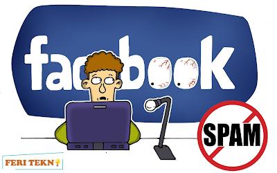 Mengatasi Spam Facebook - Feri Tekno