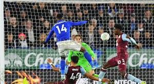 ليستر سيتي يتجنب الخساره على ملعبه امام أستون فيلا بالتعادل في ذهاب نصف نهائي كأس الرابطة الإنجليزية