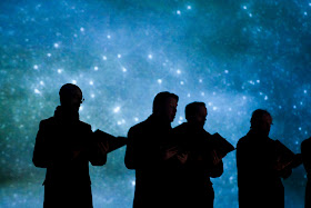 The Sixteen in Streetwise Opera and The Sixteen's The Passion. Photo by Graeme Cooper