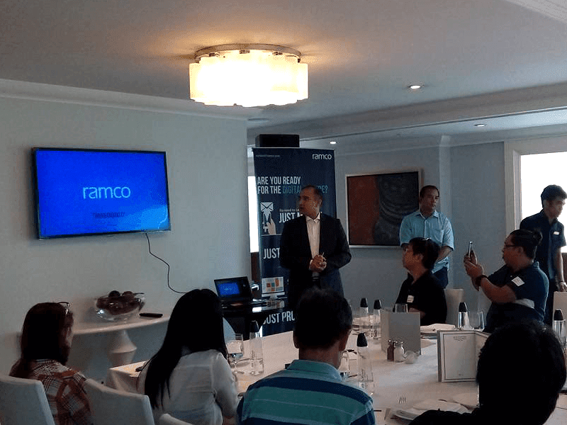 Ramco's PH media presentation
