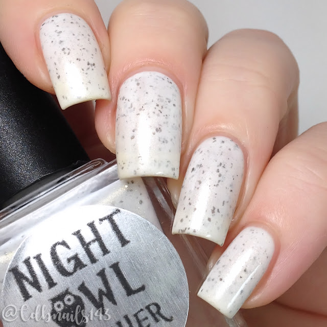 Night Owl Lacquer-Snowy Owl