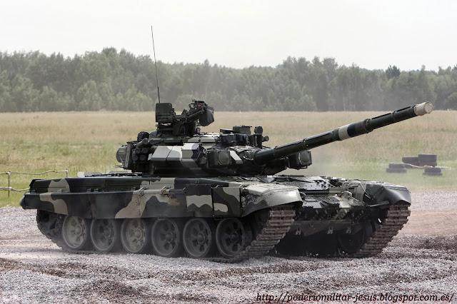 Adquisiciones y modernización de las FF.AA. de Irán Tanque%2BT-90