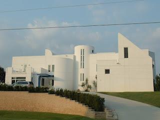 Casas en las islas barrera