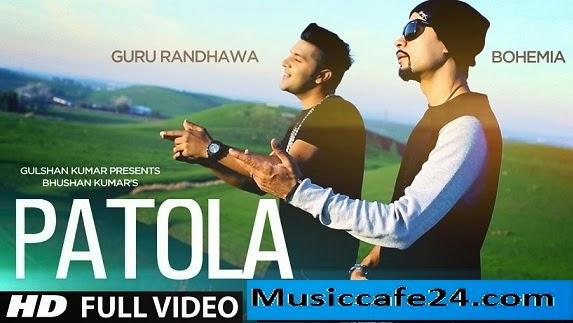 Patola video song lyrics guru randhawa feat. Bohemia | hd pk.