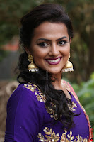Actress Shraddha Srinath in Purple Chania Choli Cute Pics ~  Exclusive 45.jpg