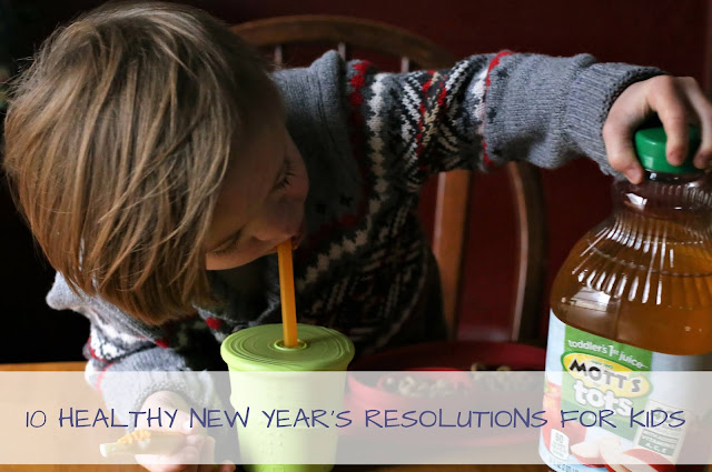 10 HEALTHY NEW YEAR'S RESOLUTIONS FOR KIDS