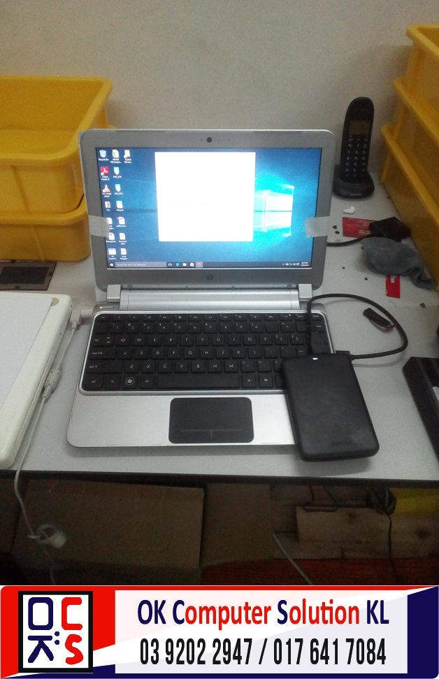 [SOLVED] FORMAT BACKUP HP PAVILLION DM1 | REPAIR LAPTOP CHERAS 2