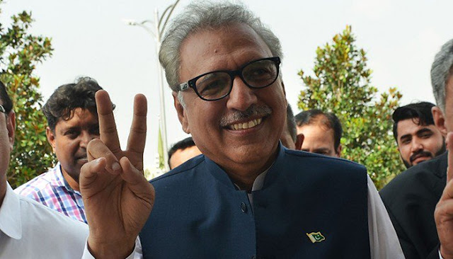 ECP: PTI's Dr Arif Alvi Elected 13th President Of Pakistan