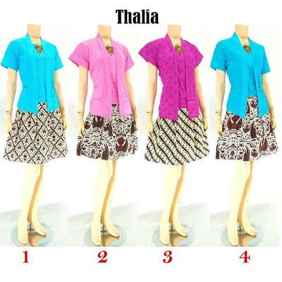 Rok-Blouse-Batik-Thalia motif batik
