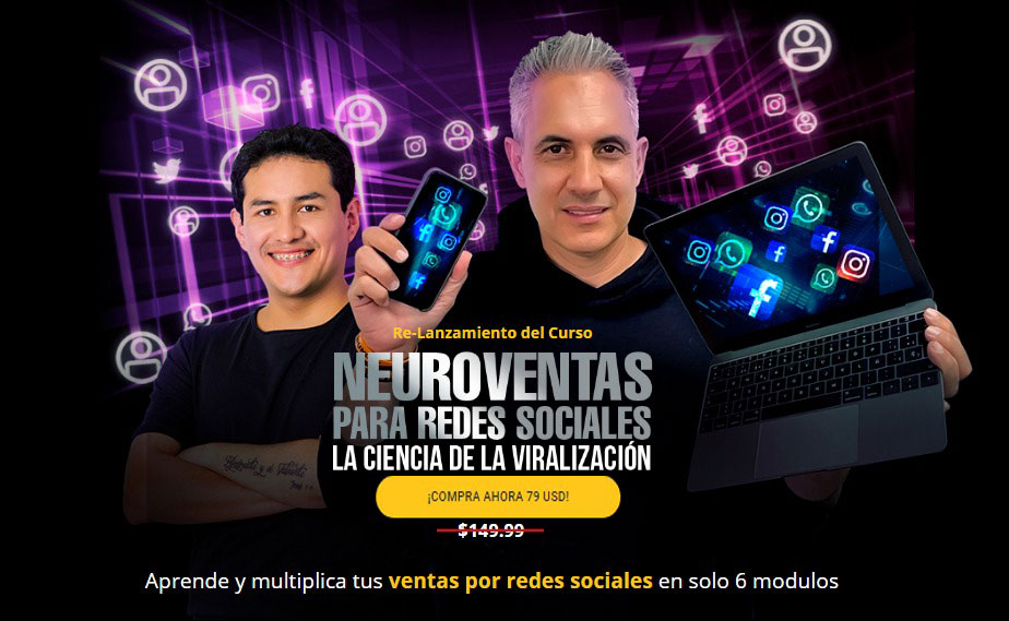 Curso de Neuroventas para Redes Sociales