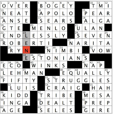 Rex parker does the nyt crossword puzzle themewith respect to this answers location themers are phrases where the number of the clue is the first part of the phrase theme clues refer you to ccuart Choice Image