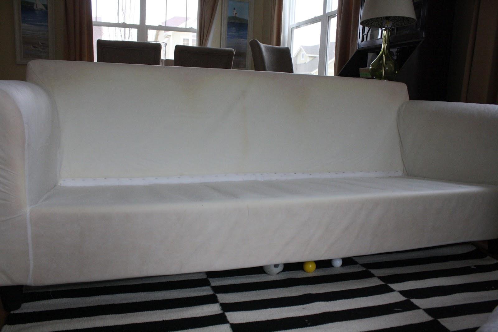 Washing White Slipcovers