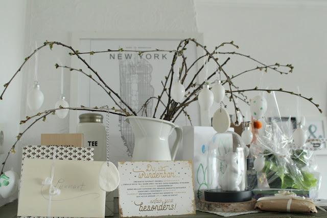 Geschenketisch Taufe Junge Deko DIY Idee Geschenkidee Blumen Tischdeko Jules kleines Freudenhaus