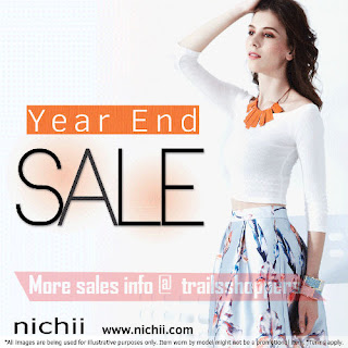 Nichii Apparels Accessories Year End Sale 2016