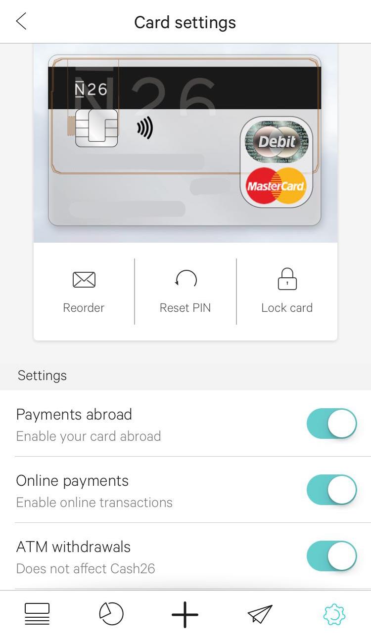 N26 - Uudenlainen mobiilipankki ja ilmainen debit Mastercard 2