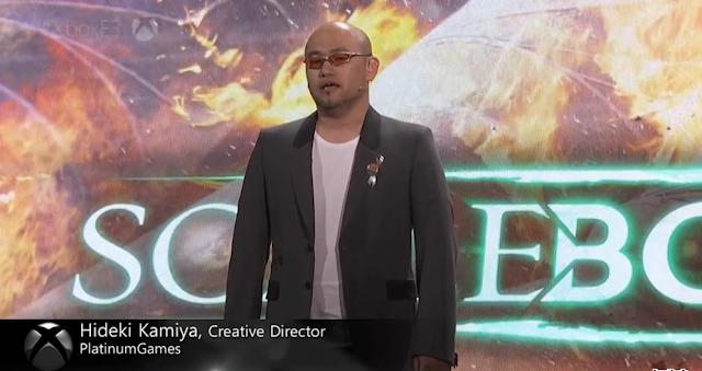 Hideki Kamiya Scalebound Microsoft E3 2016 conference PlatinumGames