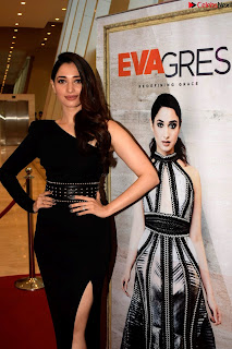 Beautiful Milky white Tamanna Bhatia in Black dress at Qutone New nd Launch ~ .xyz Exclusive 006.jpg