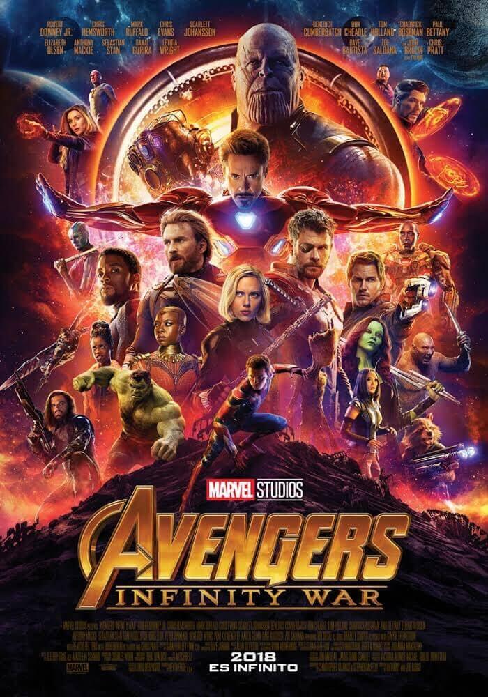 Avengers Infinity War Latino 1080p 720p MEGA