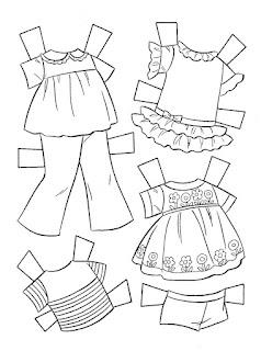 Miss Missy Paper Dolls: Baby Tenderlove coloring book